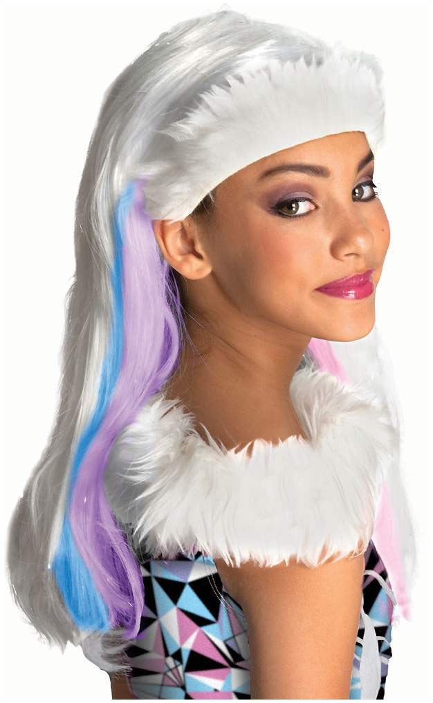 Kid's Monster High Abbey Bominable Wig