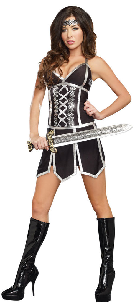 Adult Battle Beauty Warrior Costume