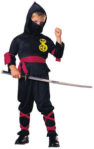 Kid Black Ninja Costume