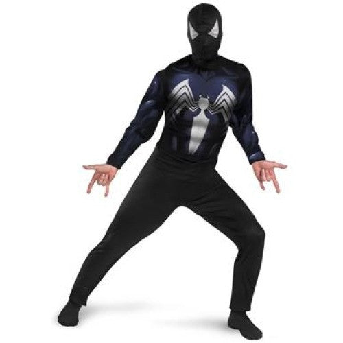 Black Suited Spiderman Costume