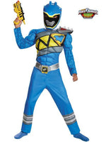 Children's Blue Power Ranger Dino Charge Muscle Costume