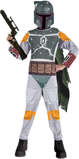 Kid's Star Wars Boba Fett Costume