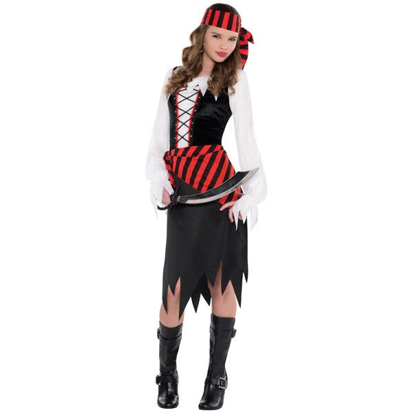 Kid's Buccaneer Beauty Pirate Costume