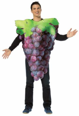 Bunch of Purple Grapes Costume