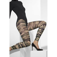 Camouflage Footless Leggings
