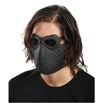 Captain America Movie 2 Winter Soldier Deluxe Latex Adult Costume Mask