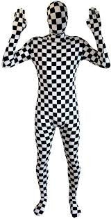 Checkered Morphsuit