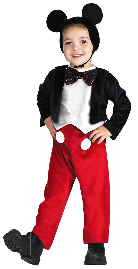 Children's Mickey Mouse Deluxe Costume