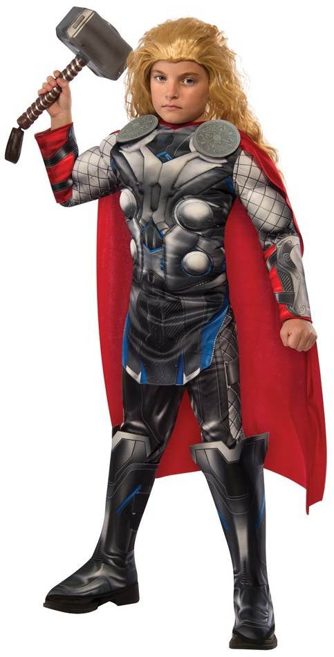 Kid's Avengers 2: Thor Muscle Chest Deluxe Costume