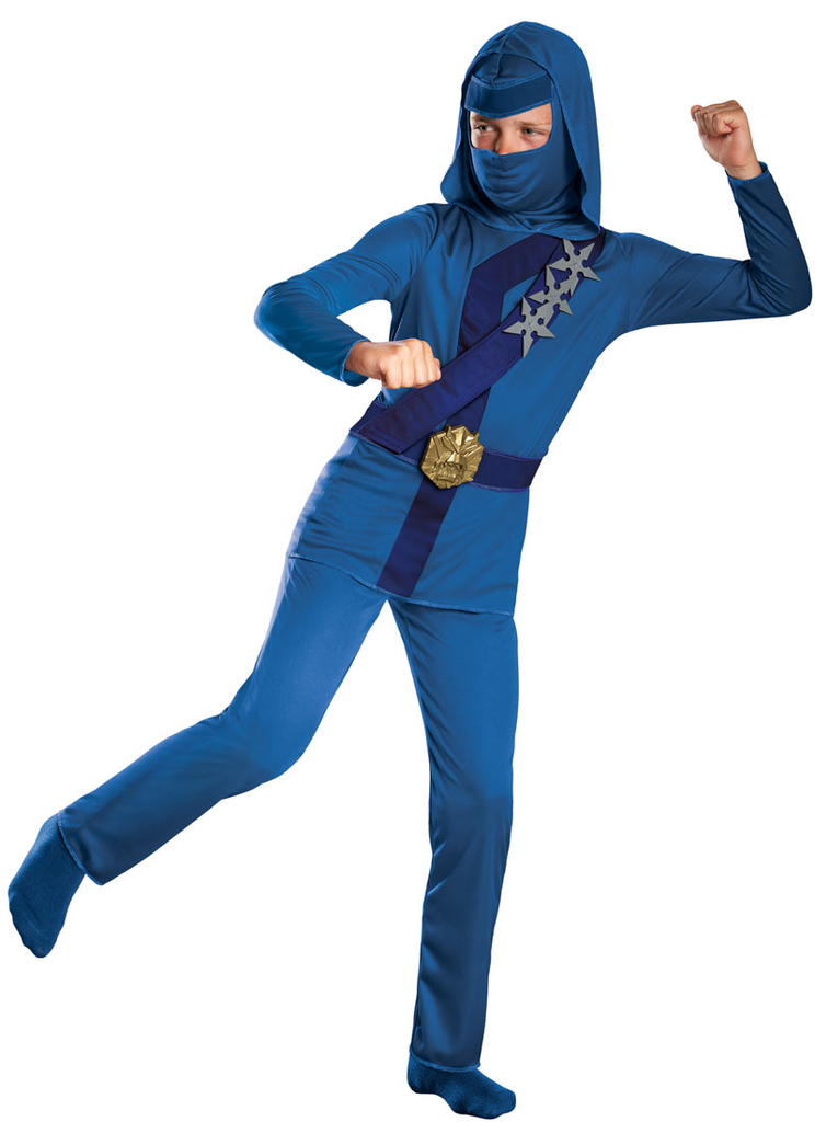 Children's Blue Ninja Costume