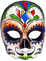 Day of the Dead Male Skull Half Mask