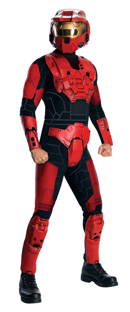 Deluxe Red Spartan Halo Costume