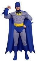 Adult Deluxe Muscle Chest Batman Costume