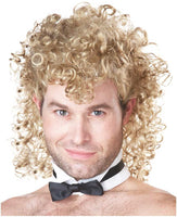 80's Blonde Curly Wig