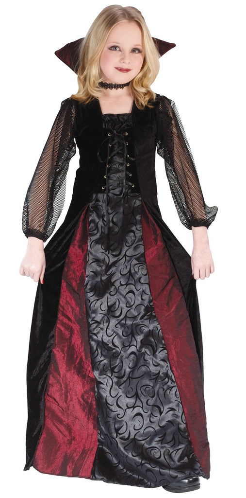 Children's Goth Maiden Vamp Costume