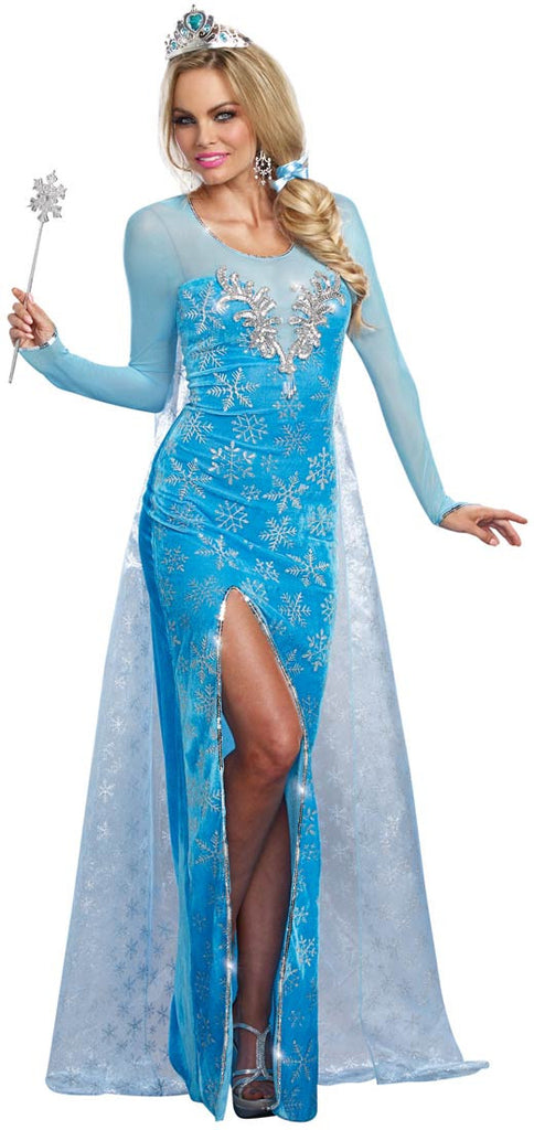 Elsa Ice Queen Costume
