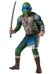 Kid's Teenage Mutant Ninja Turtle Deluxe Leonardo Costume