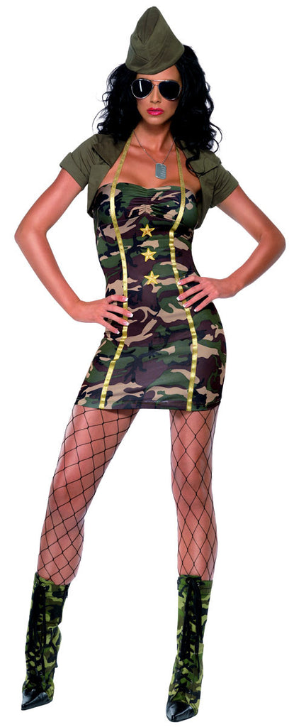 Adult Army Major Trouble Costume