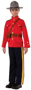 Kid's Royal Mountie Police Costume