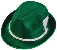 Oktoberfest Green Alpine Hat