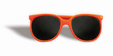 80's Orange Sunglasses