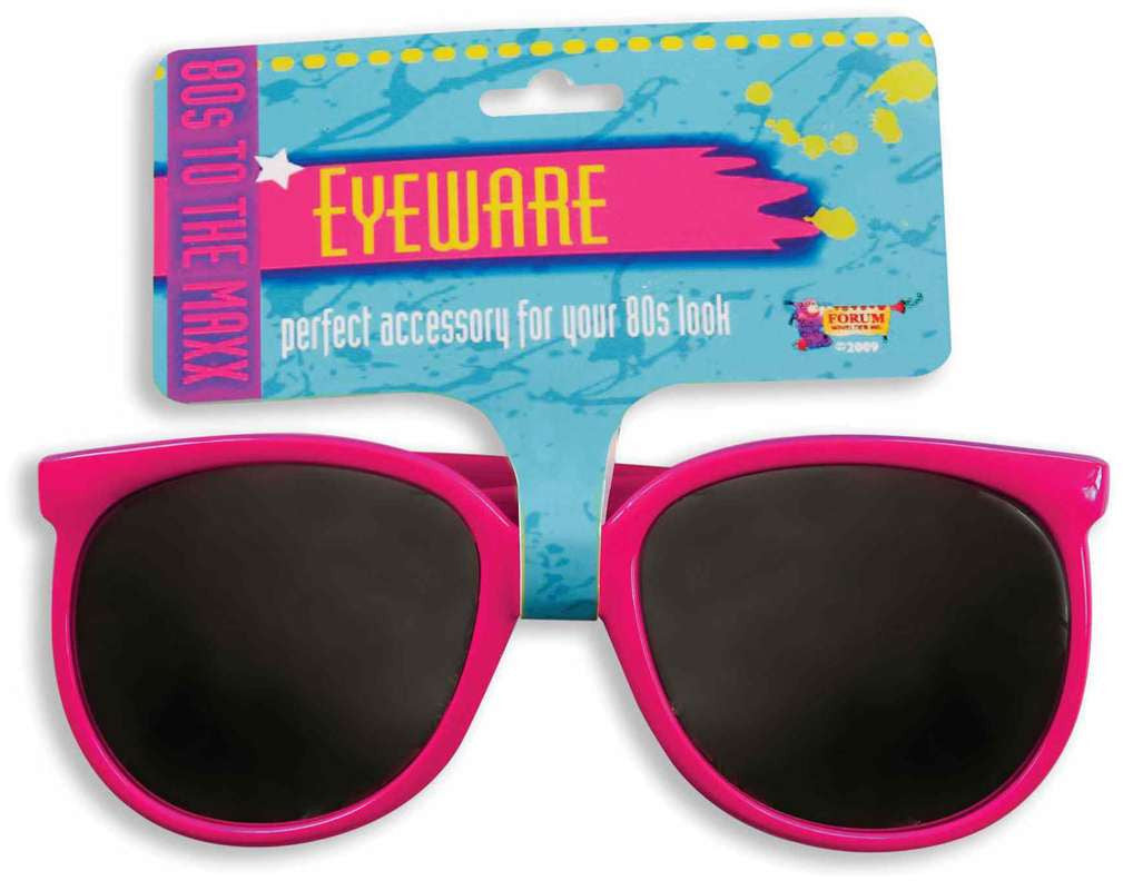 80's Pink Sunglasses