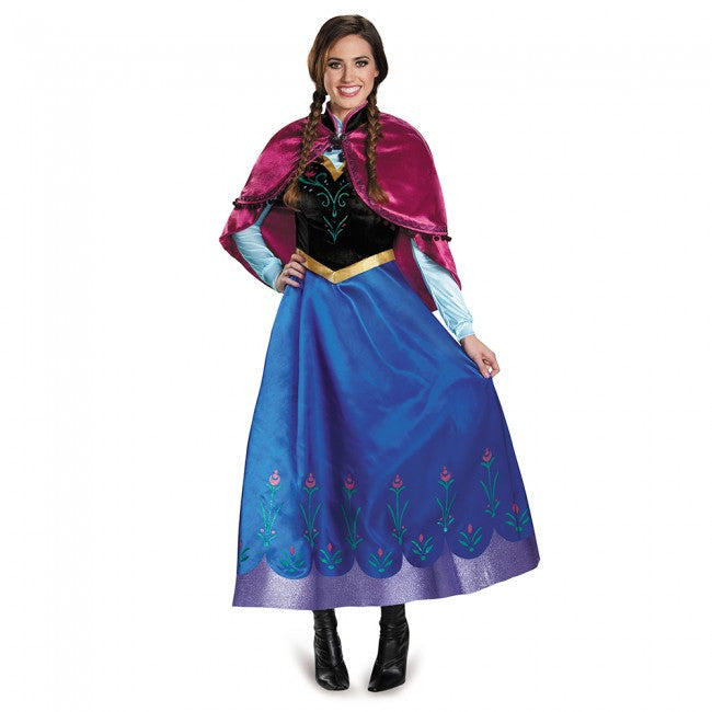 Adult Frozen Anna Traveling Prestige Costume