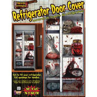 Creepy Kitchen Refrigerator Door Cover