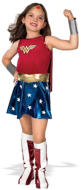 Children's Deluxe Wonder Woman Costume
