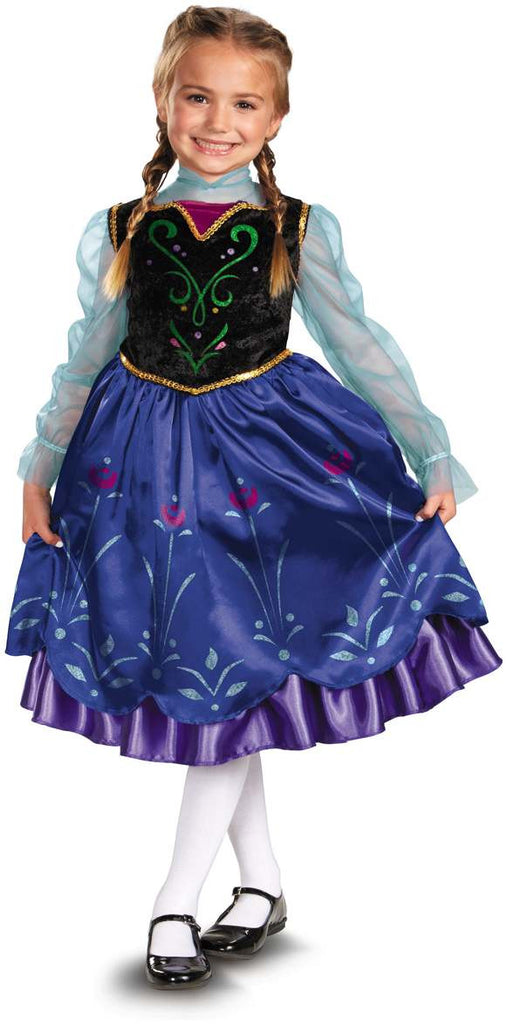 Children's Deluxe Anna Costume