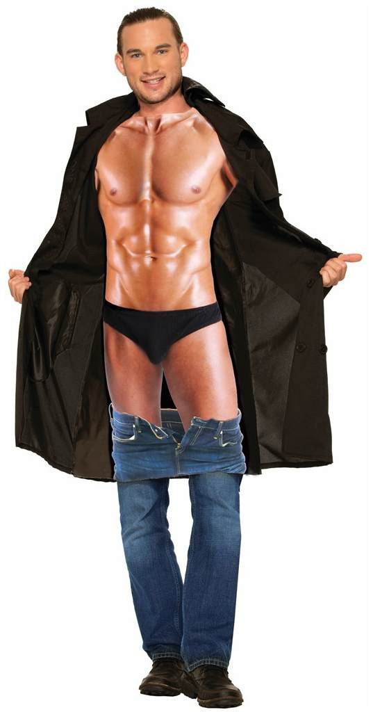 Men's Sexy Flasher Costume