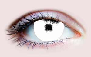 White Sclera Contact Lenses