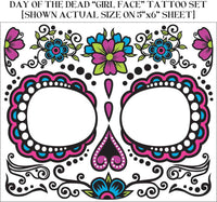 Day Of The Dead Female Tattoo