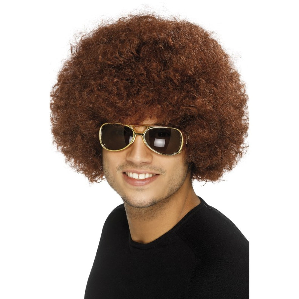 Brown Afro Wig