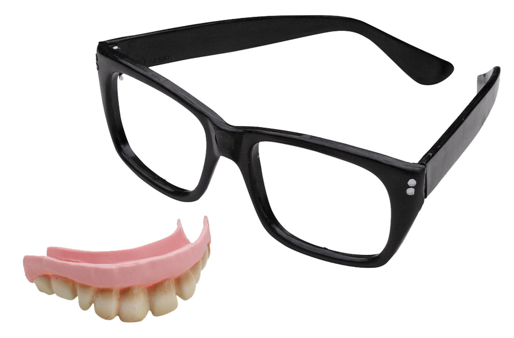 Austin Powers Teeth And Glasses
