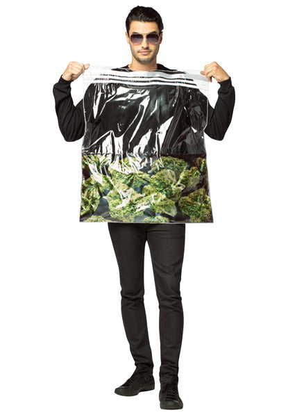 Bag Of Weed Costume