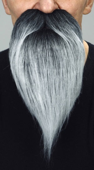Beard Grey/Black