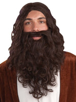 Biblical wig and Beard Set