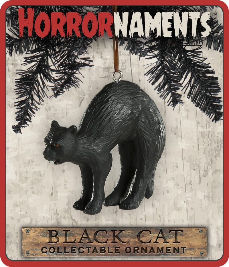 Black Cat Horrornament