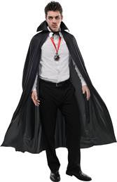 Black Full Length Cape