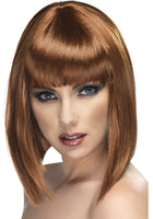 Brown Glam Wig