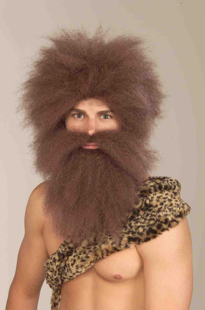 Caveman and Beard Set
