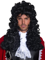 Black Deluxe Pirate Wig
