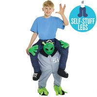 Kid Morphsuit Piggyback Alien Costume