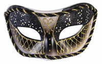 Masquerade Black/Gold Mask