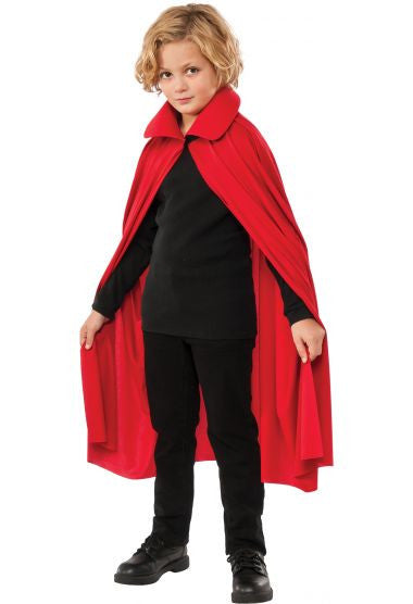 "Kids 36"" Red Cape"