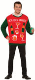 Christmas Sweater Holiday Spirits