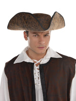 Brown Ahoy Matey Hat