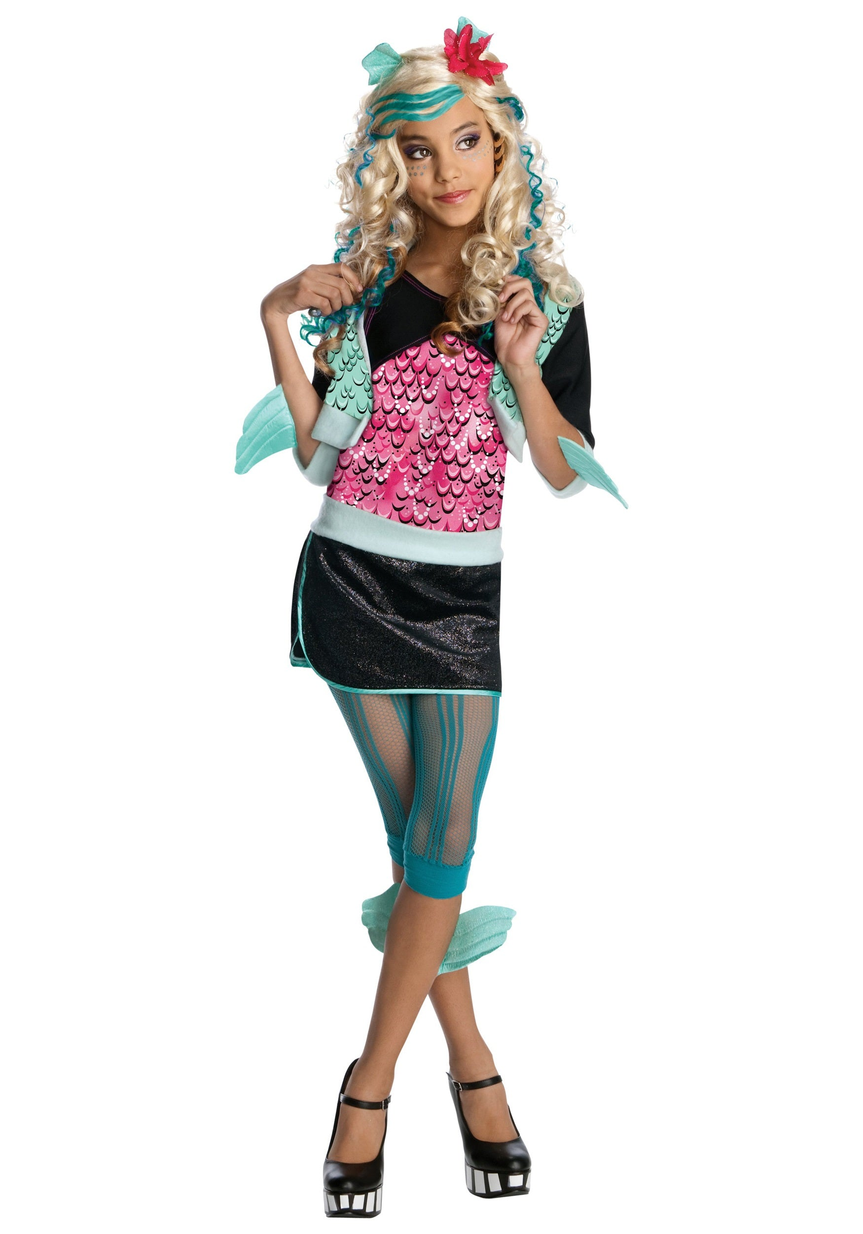 kids monster high lagoona blue costume