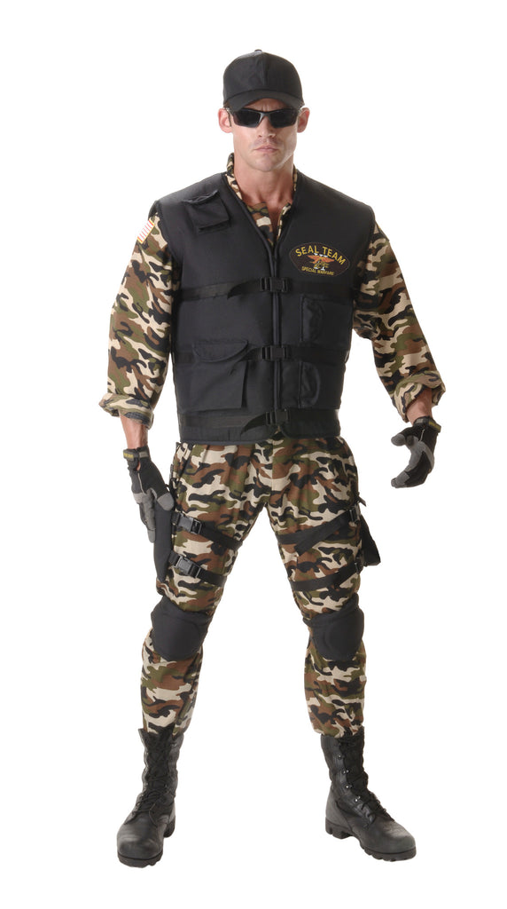 Seal Team Deluxe Costume